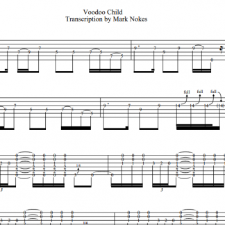 Voodoo Child TAB